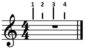 4_4-Takt mit Schwerpunkten