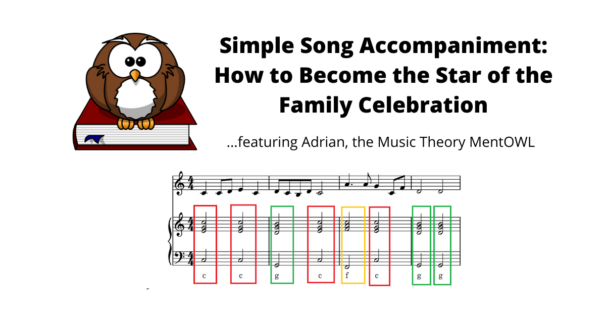 Simple Song Accompaniment: How to Become the Star of the Family Celebration