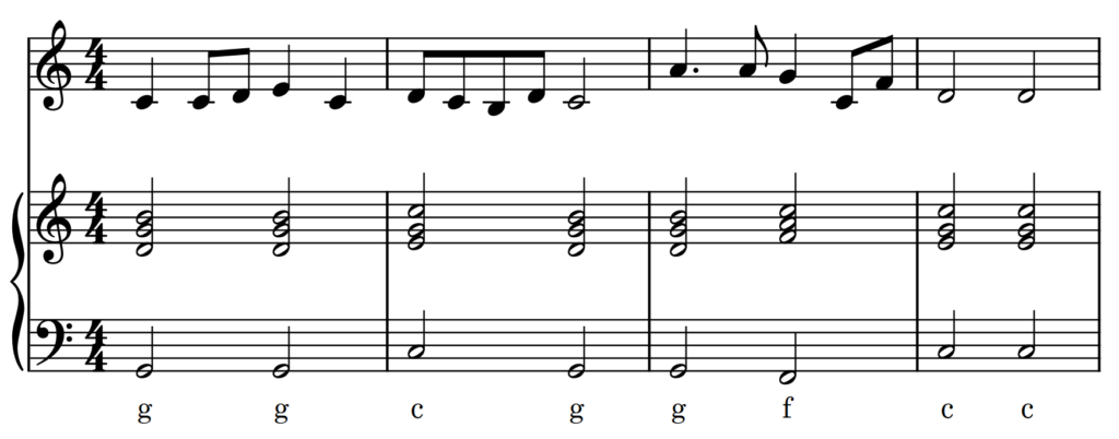 Liedbegleitung Song Accompaniment 3