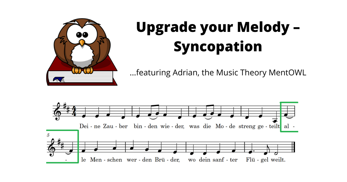 Upgrade Your Melody – Syncopation