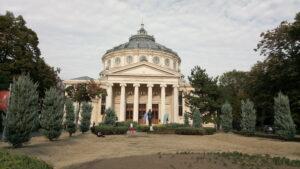 Bucharest Athenaeum outside