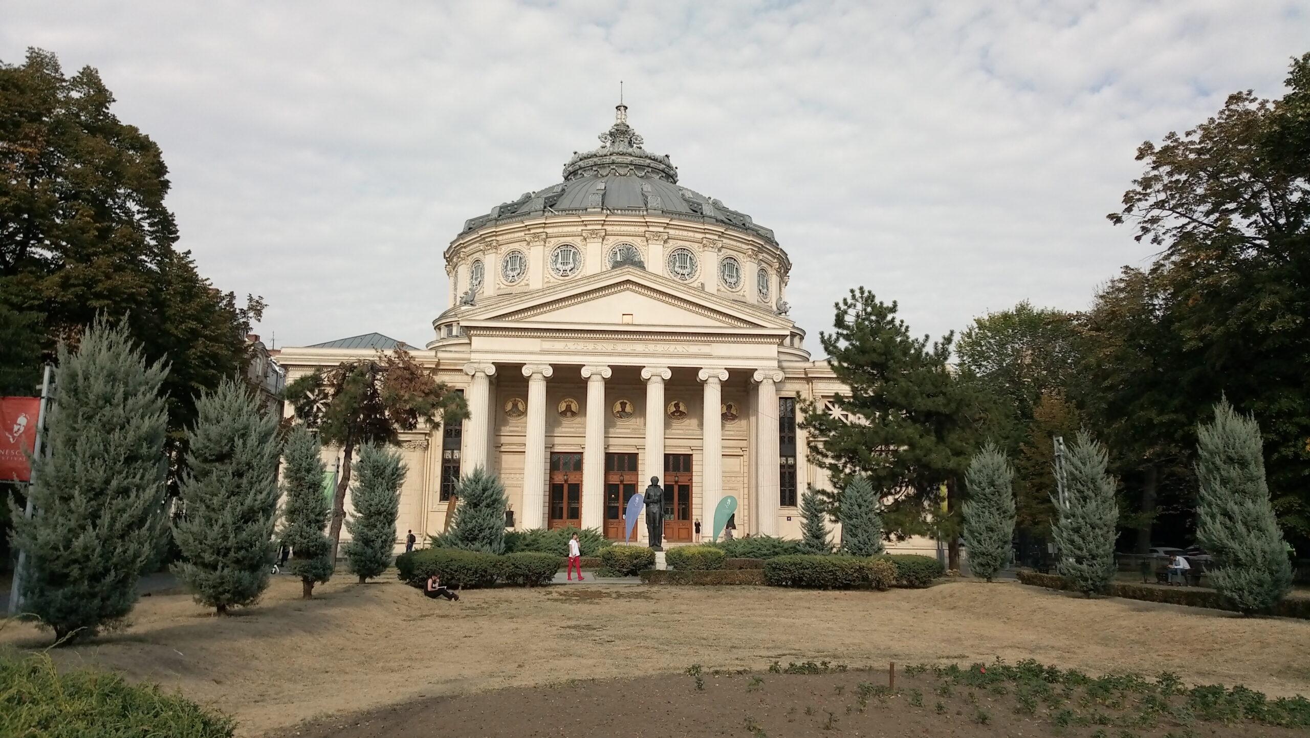 Where circus, politics and music meet: the Bucharest Athenaeum