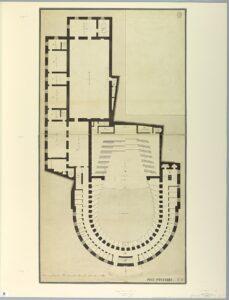 Teatro La Fenice Plan 1788 1