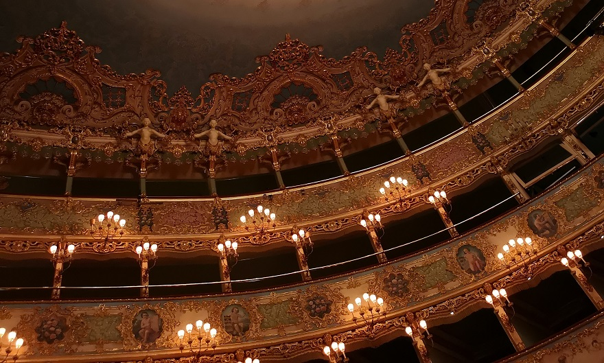Teatro La Fenice – A Drama in Three Fires