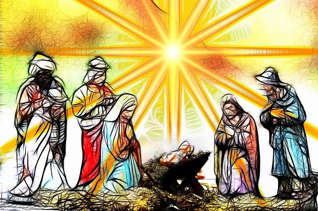 Weihnachtsgeschichte als Singspiel
