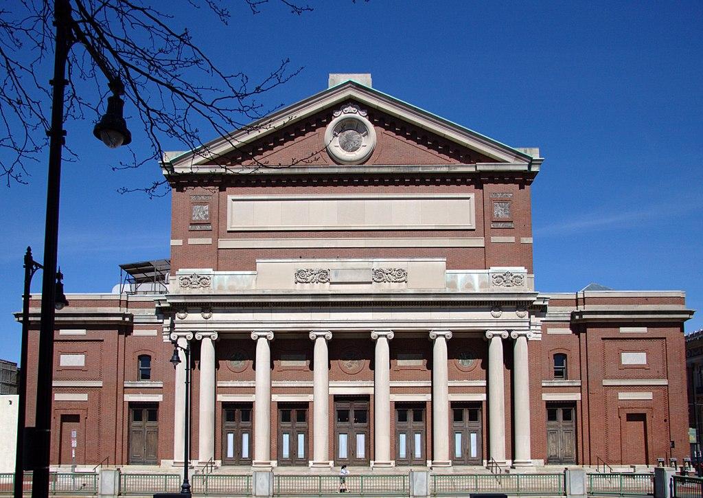 Boston Symphony Hall front