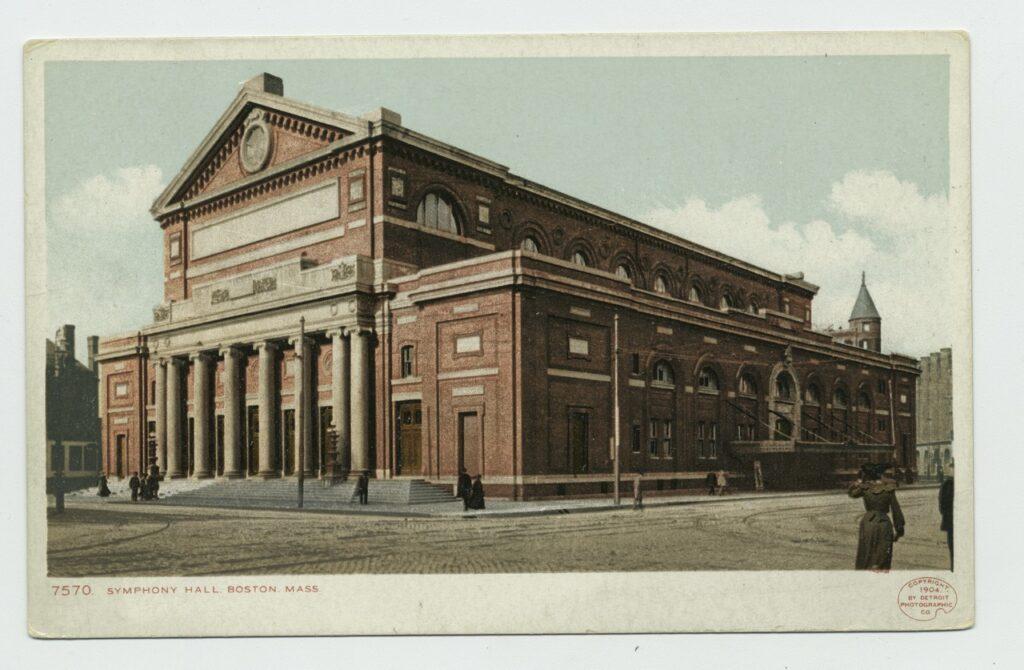 Boston Symphony Hall historic