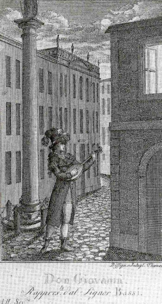 Luigi Bassi Don Giovanni in Prag