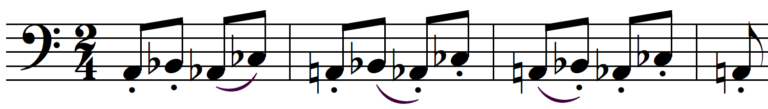 Béla Bartók Dance Suite Beginning