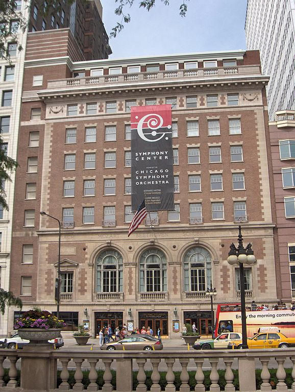 Chicago Symphony Orchestra Orchestra Hall
