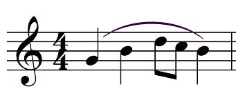 articulation music legato example